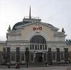 Железнодорожные вокзалы в Тюхтете
