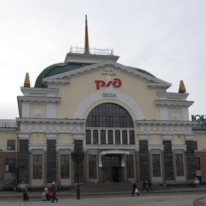 Железнодорожные вокзалы Тюхтета